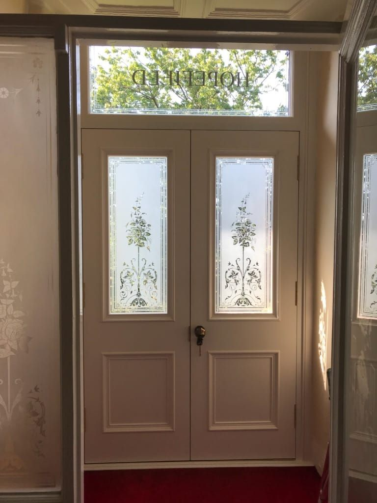 Double Storm Doors in Glasgow | Custombuilt Joinery Limited