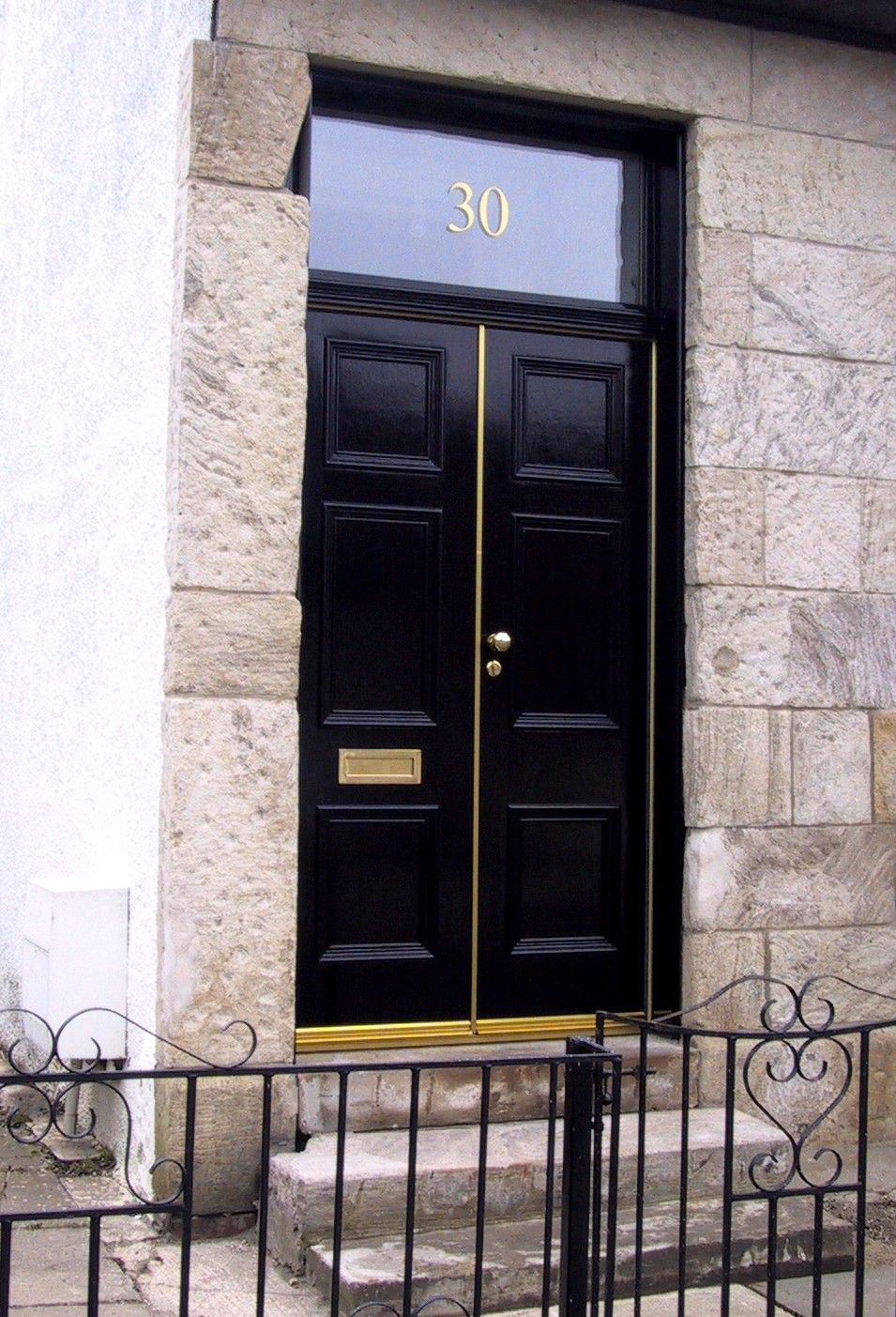 Double Storm Doors In Glasgow Custombuilt Joinery Limited